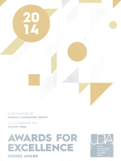 UDIA Award 2014